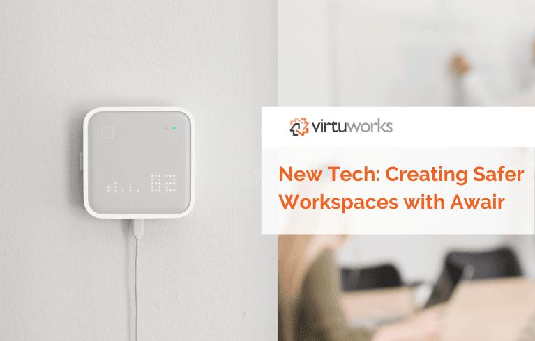 VirtuWorks enabled Awair device
