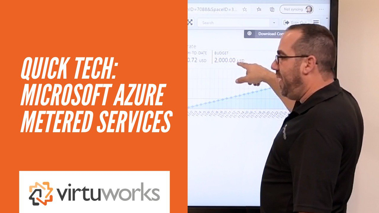 Azure Metered Services