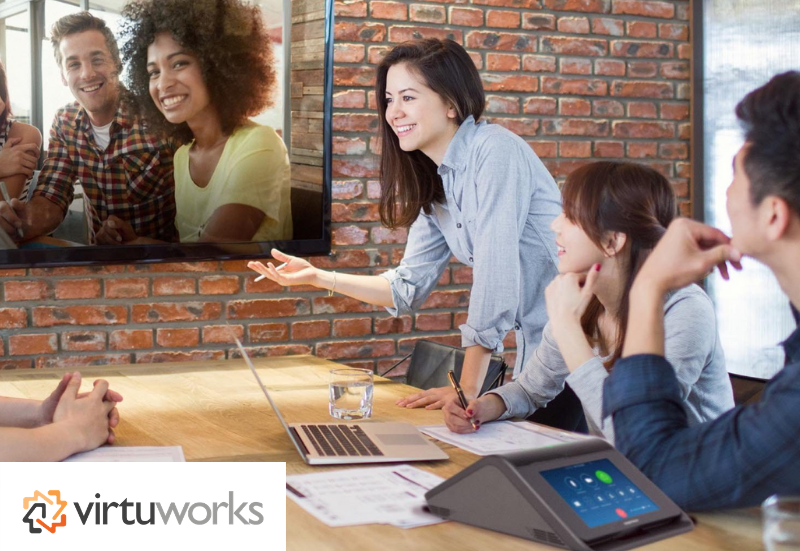 VirtuWorks and Crestron Bring Conference Rooms and Digital Media to Life